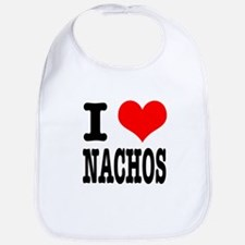 I Heart (Love) Nachos Bib