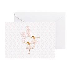 fairy ballerinas Greeting Card