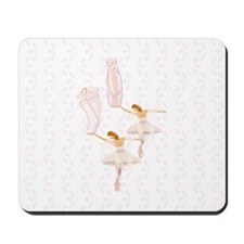 fairy ballerinas Mousepad