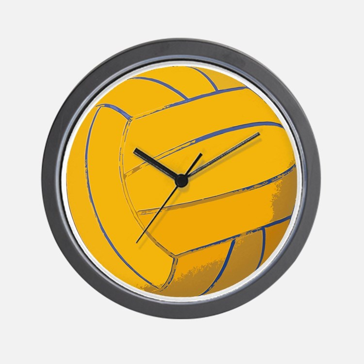 Waterpolo Ball US Olympics Swimming Fis Wall Clock
