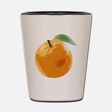 Orange Fruit Navel Valencia Naranja Shot Glass