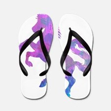 UNICORN with HEARTS DESIGN T SHIRT Flip Flops