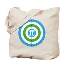 Pi Day Bullseye version 3 Tote Bag