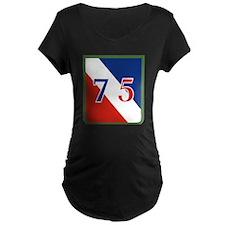 75th ID.png Maternity T-Shirt