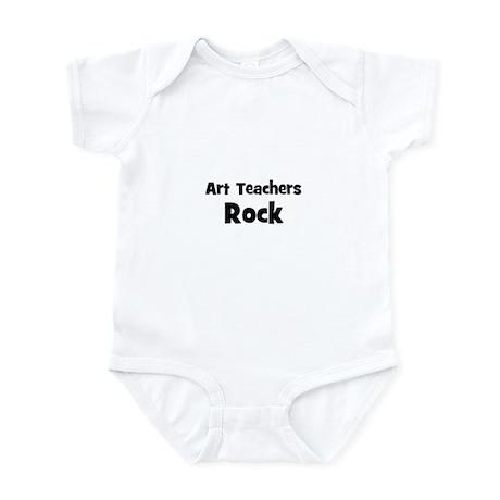 Art Teachers Rock Infant Bodysuit