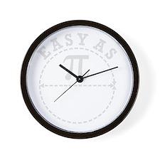 Easy as Pi Wall Clock