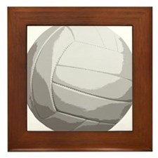 Volleyball Net Jump Bump Set Spike Framed Tile