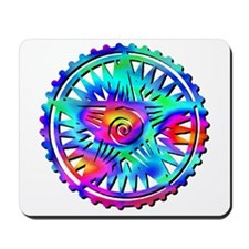 Earth Symbol Multi-Colored 2 Mousepad