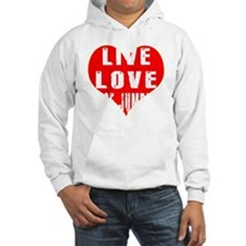 Live Love Base Jumping Designs Hoodie