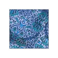 """300dpi FABRIC DESIGN floral Square Sticker 3"""" x 3"""""""