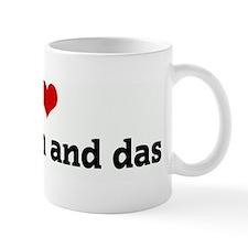 I Love you  mom and das Mug