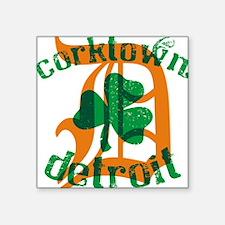 """Corktown Square Sticker 3"""" x 3"""""""