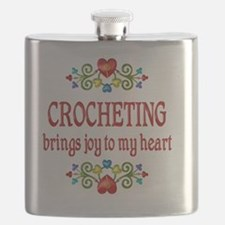 Crocheting Joy Flask