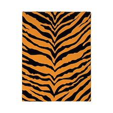 Tiger Print Twin Duvet