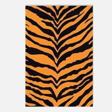 Tiger Print Postcards (Package of 8)