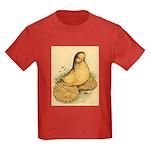 Muffed Tumbler Pigeon Kids Dark T-Shirt