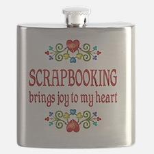 Scrapbooking Joy Flask