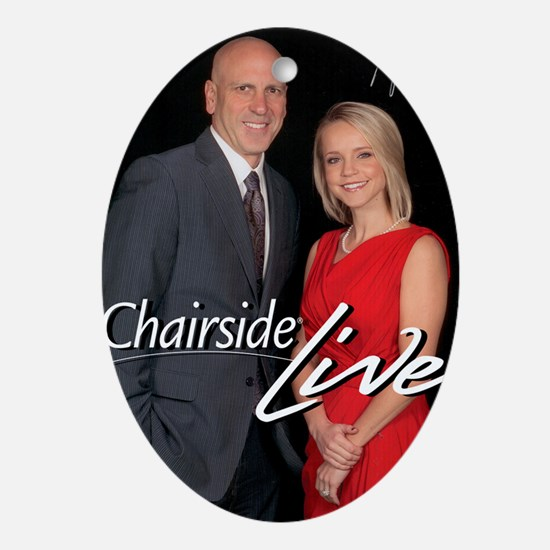 Chairside Live Oval Ornament