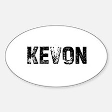 Kevon Oval Decal