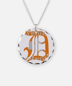 Corktown Necklace Circle Charm