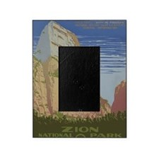 Zion National Park Vintage Poster Picture Frame