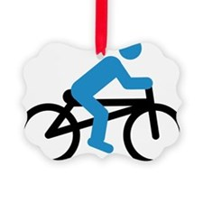bicyclists Ornament