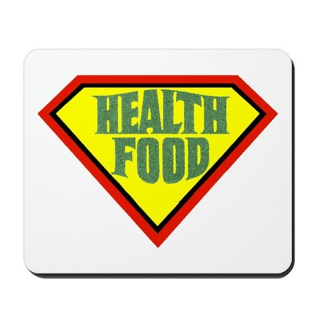 Super Health Food Mousepad