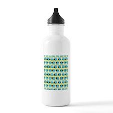 Blue Owls Water Bottle