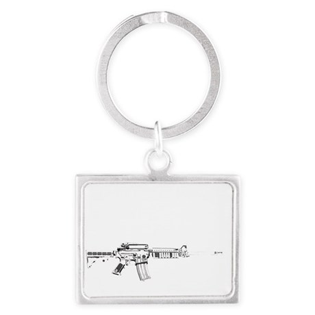 If You Want Mine, You Had Bette Landscape Keychain