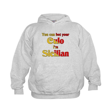 You can bet your Culo I'm Sic Kids Hoodie