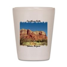 Courthouse Butte Shot Glass