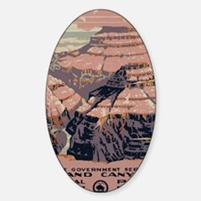 Grand Canyon National Park Sticker (Oval)