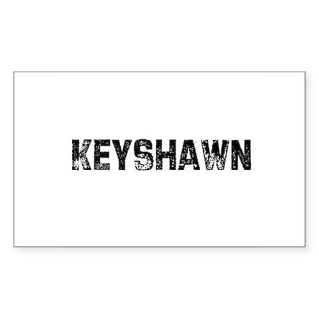 Keyshawn Rectangle Sticker