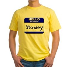 hello my name is stanley T