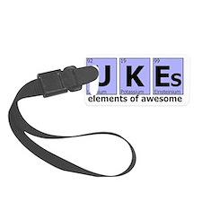 UKEs - Elements of Awesome (blue Luggage Tag