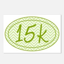 15k Green Chevron Postcards (Package of 8)