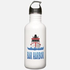 Bar Harbor Boat Front Water Bottle