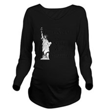 Not Your Mother Long Sleeve Maternity T-Shirt