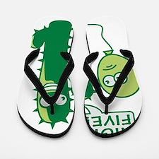 cactus_high_five Flip Flops