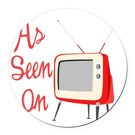 As Seen On TV Round Car Magnet
