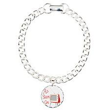 As Seen On TV Charm Bracelet, One Charm