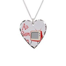 As Seen On TV Necklace Heart Charm