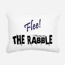 The Rabble - Danger! Rectangular Canvas Pillow