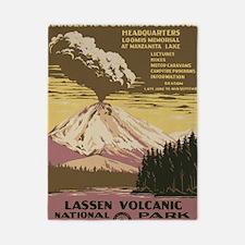 Lassen Volcanic National Park Vintage P Twin Duvet