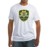 Carson City Sheriff Fitted T-Shirt