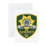 Carson City Sheriff Greeting Cards (Pk of 10)
