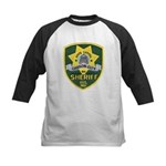 Carson City Sheriff Kids Baseball Jersey