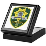 Carson City Sheriff Keepsake Box