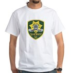 Carson City Sheriff White T-Shirt