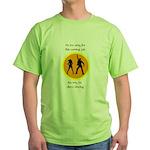 Disco Nursing Green T-Shirt